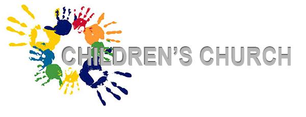Childrens Church banner